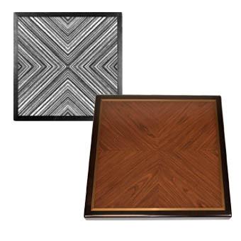 Reverse Diamond Box Pattern