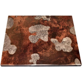 Acid Wash Digital Print Self Edge Custom Table Top