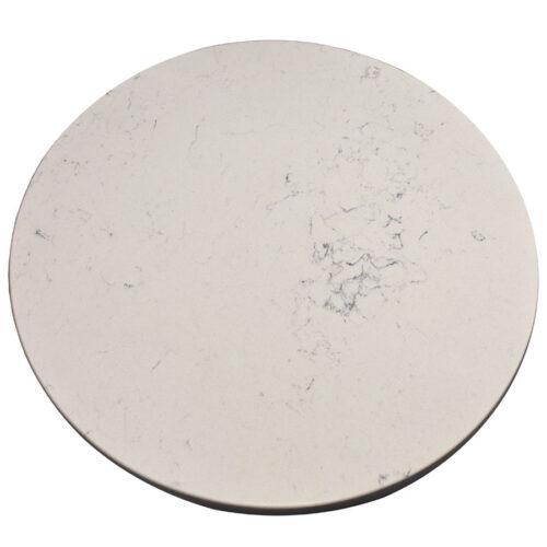"""Q-Quartz 2CM """"Carrara Marmi"""" with 4CM laminated Drop Edge"""