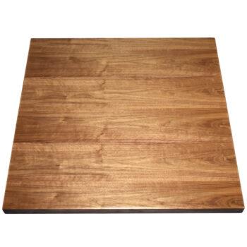 Plain Slice Walnut Veneer Overlay with Walnut Wood Edge