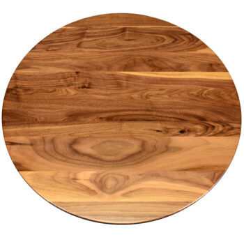Walnut Plank Top with Heartwood and Sapwood