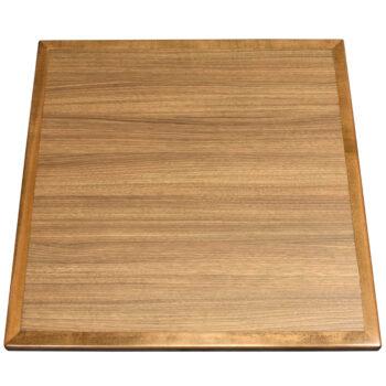 "Wilsonart ""Neo Walnut"" Laminate with Maple Wood Edge Stained to Match"