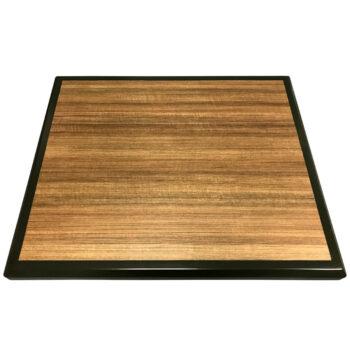 """Wilsonart """"Studio Teak"""" Laminate with Custom Painted Maple Wood Edge"""