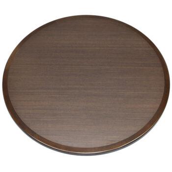 "Wilsonart ""Walnut Heights"" Laminate with Custom Stained to Match Maple Wood Edge"