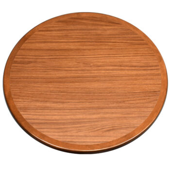 """Wilsonart """"Walnut Heights"""" Laminate with Stained Maple Wood Edge to Match"""