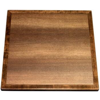 "Wilsonart ""Warehouse Oak"" Laminate with Stained Maple Wood Edge to Match"