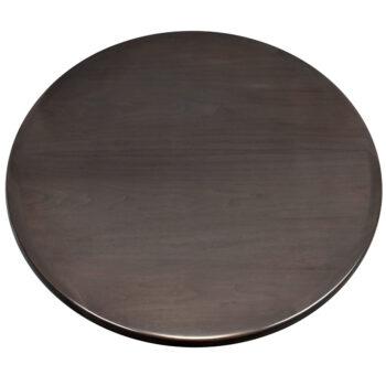 Maple Veneer Inlay with Maple Wood Edge and Custom Stain